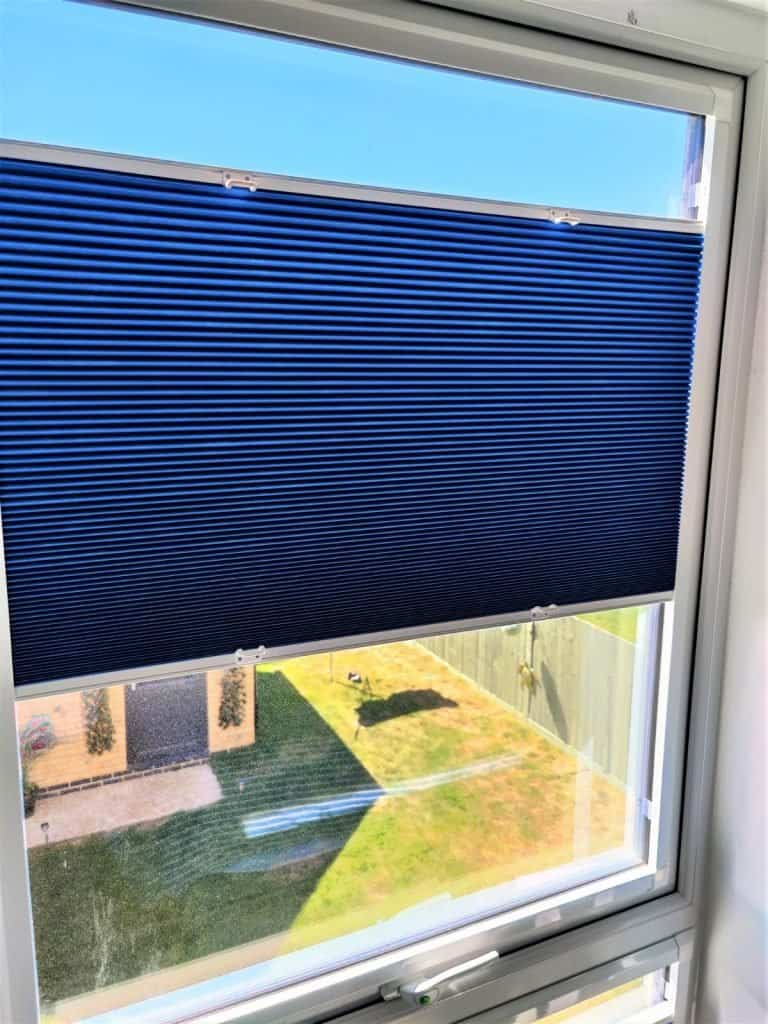 Perfect Fit Pleated Blackout Blinds